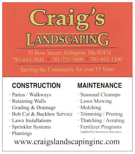Craig's Landscaping Business